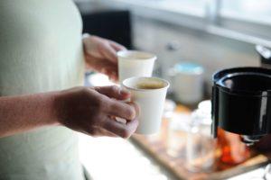pause cafe gobelet carton